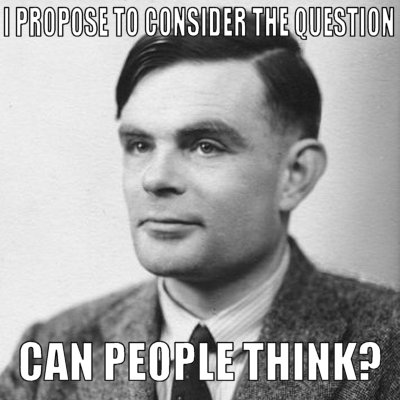 Turing meme can people think Imgur